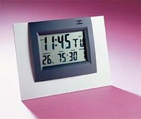 LCD Alarm Clock With Hydro-Thermometer