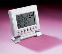 LCD Weather Clock With Back Light
