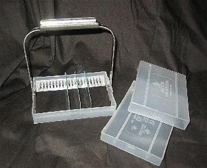 Microarray Slide Box And Handle
