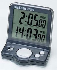 Big Digit Dual Timer / Clock