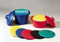 Insulated Round Ice Buckets and Round Test Tube Racks