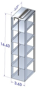 Freezer Racks for 96-well and 384-well Microtiter Plates