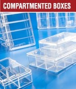 Compartmentalized Blotting Containers