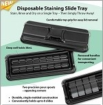 Staining Slide Tray (Disposable)