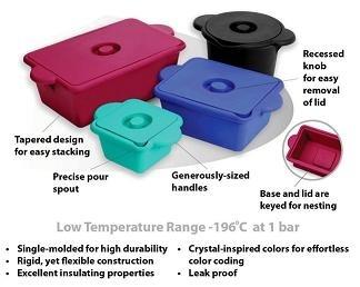 Ice Buckets - Round and Rectangular