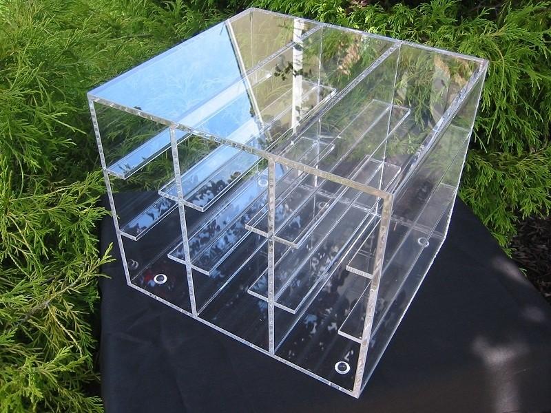 80-Well Acrylic Storage Rack