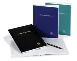 Laboratory Notebooks - 100 and 200 page