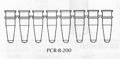Thin-walled PCR Tubes and Caps