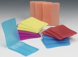 Plastic 2-Place Slide Mailer