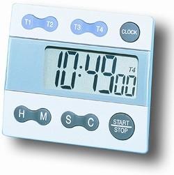 Digital Four Channel Timer / Clock