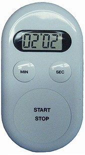 LCD Oval Countdown Timer