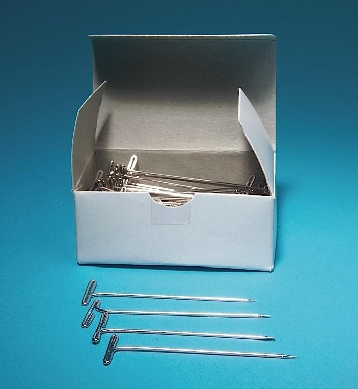 T Pins, Nickel-Plated