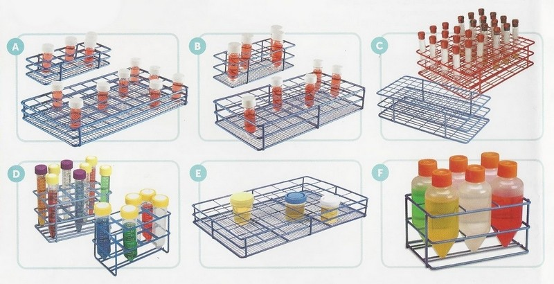 Wire Tube and Bottle Racks