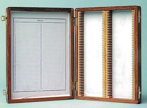Wooden Slide Storage Boxes