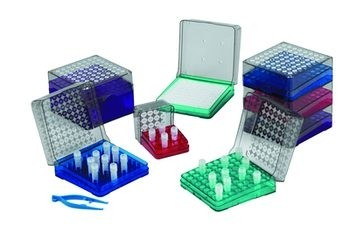 Polycarbonate Cryovial Boxes