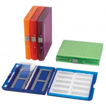 100-place Translucent Microscope Slide Boxes (histology)