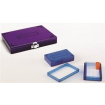 100-place microscope slide boxes (Histology)