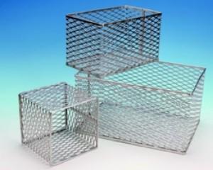 Test Tube Baskets, Aluminum