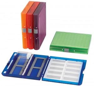 100-place Translucent Microscope Slide Boxes (histology)