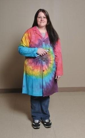 Tie-Dyed Lab Coats