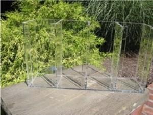 Acrylic Petri Dish Holder (Racks and Acrylics)