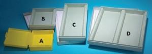 Slide Storage Boxes, Hingeless